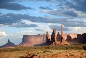 Monument Valley scene